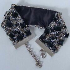 John Galliano collare ricamo pietre,embroidery necklace