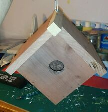 Kit #6 White cedar birdhouse for your wild feathered friends.