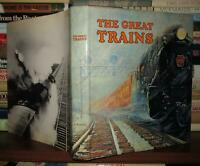 Morgan, Bryan   Produced Edita Lausanne THE GREAT TRAINS  1st Edition 1st Printi