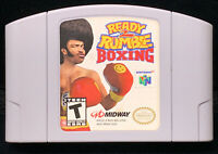 1999 Midway Ready 2 Rumble Boxing Nintendo 64 N64 Game Cart Only Tested Working