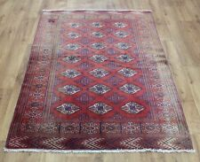 Traditional Vintage Wool 166 x 112 cm Handmade Rugs Oriental Rug Carpet