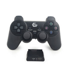 2.4GHz Wireless Dual Vibration Contrôleur PC Joypad/PS2/PS3/Windows 7/8/10