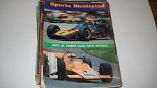 Al Unser over Pete Revson -Sports illustrated 6/7/1971