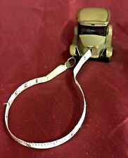 More details for antique figural german tin plate car tape measure sewing collectable