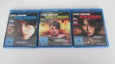 Stieg Larsson Millennium Trilogie / 3-Disc-Set / Blu-Ray