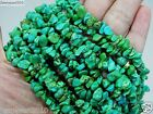 Natural Green Turquoise Gemstone 5-8mm Chip Spacer Beads 35'' Jewelry Crafts