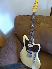 Warmoth Jazzcaster swamp ash telecaster style custom guitar