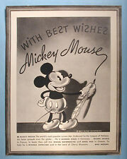 1930s Mickey Mouse Congoleum Rugs Premium Picture Walt Disney Enterprises Scarce