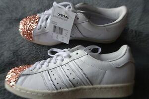 Adidas superstar 80s 3d mirrored toe UK5