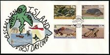 2000 ASCENSION ISLAND SEA TURTLES FDC (de132)