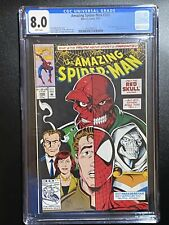 Amazing Spider-Man #366 -Red Skull Appearance  - Mark Bagley Cover CGC 8.0 9/92