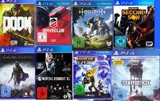 PlayStation 4 Spiele Sammlung 8 Games Konvolut Horizon Doom Infamous Star Wars