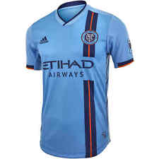 Adidas NYCFC Home Authentic Soccer Sportswear Jersey