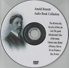 Arnold Bennett 14 audio books Collection on MP3 DVD over 77 hrs