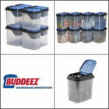 New listing Bits and Bolts Storage Containers with Blue Lids Heavy Duty Construction 1 Quart