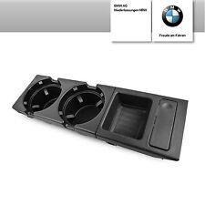 Original BMW Getränkehalter + Münzbox 3er E46 Cupholder Auto Halter Schwarz