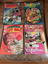 VINTAGE LOT 4 COMICS CHARLTON Ghost, Ghostly, Two 15 Cent, Two 20 Cent 1969-1973