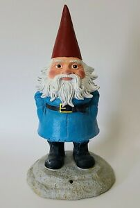 2011 Talking TRAVELOCITY The ROAMING GNOME Garden Yard Lawn Travel Buddy Statue