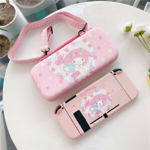 Cute Cartoon Melody Travel Bag Carrying Case Cover for Nintendo Switch Bag Pouch