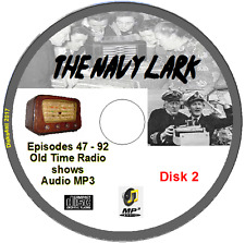 The Navy Lark 46 Old Time Radio Episodes  Jon Pertwee Audio MP3 CD OTR  No2