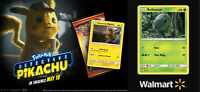 Detective Pikachu Movie Promo Pack & Walmart Bulbasaur Promo Card SM198 SET