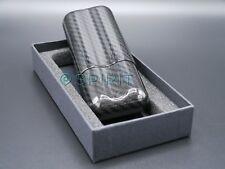 REAL, 100% Carbon Fibre Cohiba 2 Finger Cigar Case Tube Holder Container Gift