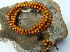 Women Wrist Mala Cedar Wood BUDDHIST MEDITATION HEALING Necklace/bracelet