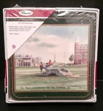 Drink Coasters Pimpernel Championship Golf New Sealed Golfer Barware Bt31