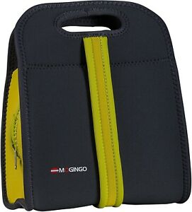 Insulated Zippered Lunch Bag, Carrying Cooler Bag w/Dual Handle Option