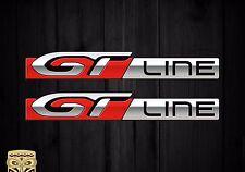 Aufkleber Decal Sticker Autocollant Adesivi Aufkleber Peugeot Gt Line Sport