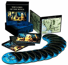 THE LORD OF THE RINGS by JRR Tolkien Audio Book Unabridged BBC Production 13 CDs