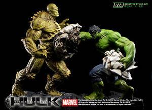 Ezhobi The Incredible Hulk DTA Dynamic Theater Arts Full Set 6 Figure Marvel New