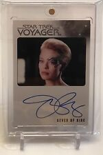 Jeri Ryan As Seven Of Nine Star Trek Voyager Autograph Auto Signature Card