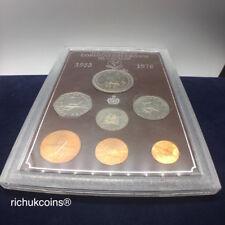 [1978 IOM MSet]1x Isle of Man Year Coin Set 25th Anni. Coronation Crown (7-coin)