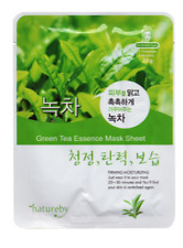 FREE Shipping!! GREEN TEA Korean Essence Face Sheet Mask-Natureby-1 pack/1 mask