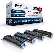 4x tóner para HP Color LaserJet 1600 2600 2600 n 2605n q6000a-6003a