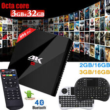H96 Pro Plus Smart TV Box 3GB/32GB 2GB/16GB Android7.1 4K OctaCore WIFI +Teclado