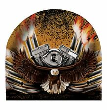 Biker Eagle Beanie Hat Skull Cap Head Wear Sublimation Colors Capsmith