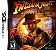 Indiana Jones and the Staff of Kings DS