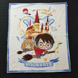 Harry Potter Print Handmade Baby Bassinet Pram Crib Cot Blanket Minky 110 x 96cm