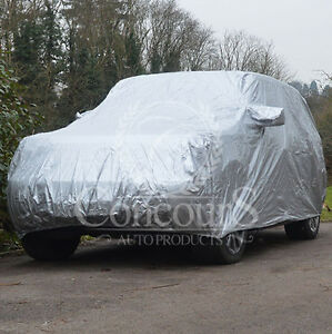 BMW X-5  E70 Breathable Car Cover, years 2007 to 2014, inc mirror pockets