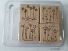 Stampin Up Simple Somethings Birds Flowers Topiary Baby Strollers Carriages