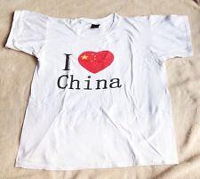 I Heart China Men's White T-shirt