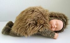 "1998 Anne Geddes Baby Doll Plush Hedgehog Outfit 16"" Long Large Unimax Toys"