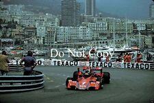 Carlos Reutemann Martini Brabham BT45 Monaco Grand Prix 1976 Photograph 5