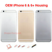 OEM Replacement Back Housing Mid Frame Battery Door Cover for iPhone 6 or 6 Plus