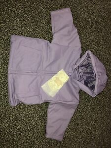 Winter warm Lilac Sparkly Glitter coat hooded First Needs 3-6 Months Padded Warm