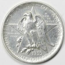 1935 Texas Half Dollar Commemorative Choice AU Ungraded MM002