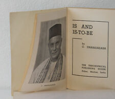 is and is-to-be, jinarajadasa, 1941 second EDITION