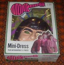 MONKEES  MINI-DRESS  COSTUME  DAVY JONES  1967  BLAND CHARNAS  BOXED  LARGE
